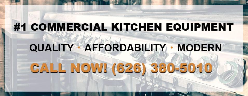 #1 commercial kitchen equipment