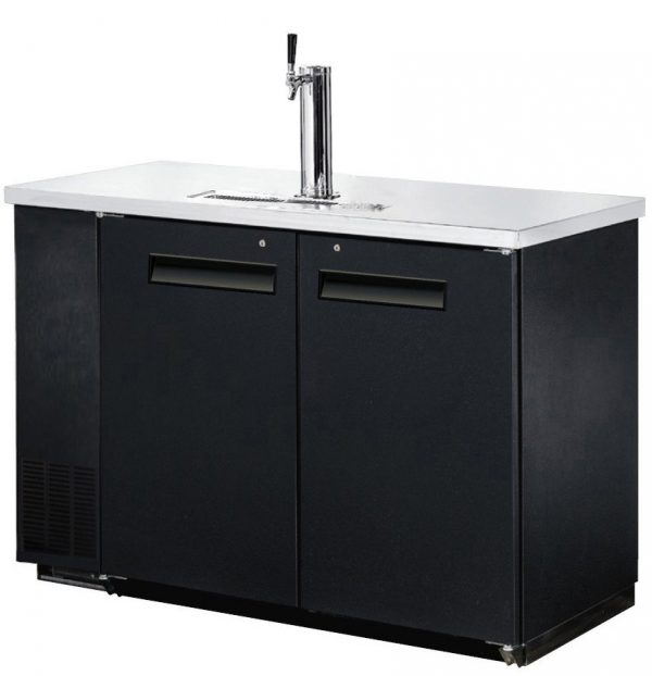 Two-Door-Draft-Beer-Dispenser